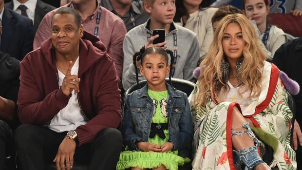 Beyoncé, estrella de la NBA