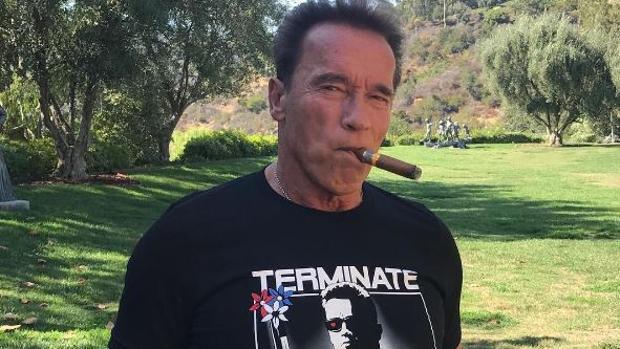 Arnold Schwarzenegger muestra su repulsa por los grupos neonazis