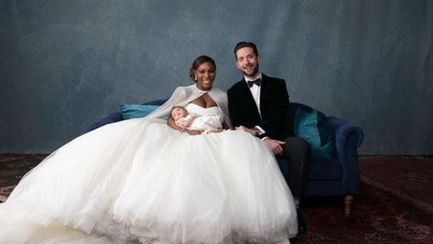 Las imágenes más esperadas de la boda de Serena Williams