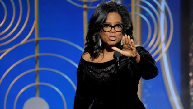 Oprah Winfrey, de heroína por su discurso en los Globos a villana por sus fotos con Weinstein
