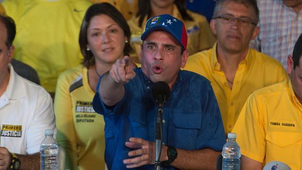 Capriles exige a Maduro que se pronuncie sobre la condena de sus sobrinos