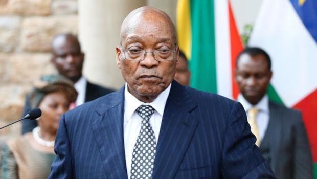 Apagón nacional contra el presidente Zuma