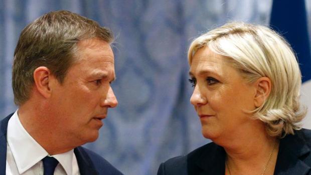 Marine Le Pen anuncia que el ultranacionalista Dupont será su primer ministro si gana las elecciones