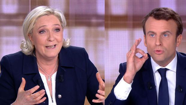 Macron a Le Pen: «Lo que usted propone es la guerra civil para Francia»