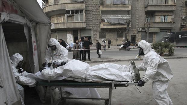 Siria tilda de «injustificadas» las sanciones de la UE contra 16 personas por el uso de armas químicas