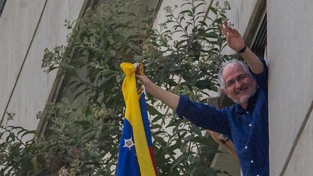 El alcalde de Caracas encarcelado pide a Zapatero que no le visite