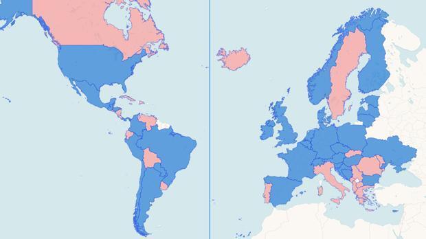 Europa y América confían su gobierno a la derecha política