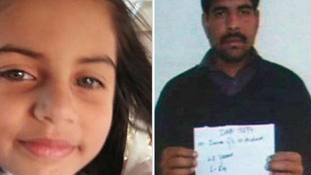 Cuatro penas de muerte contra el asesino y violador paquistaní de una niña de 7 años
