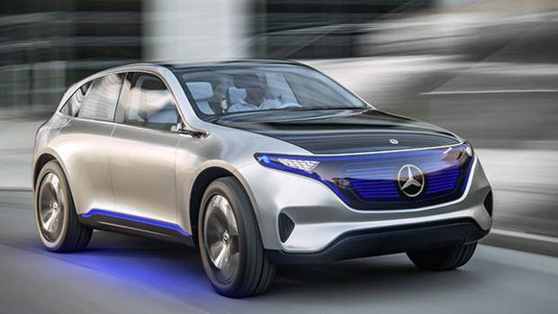 Generation EQ la nueva generación de eléctricos de Mercedes