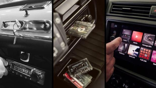De extra de lujo a la pantalla táctil: así ha cambiado la radio de los automóviles en 60 años