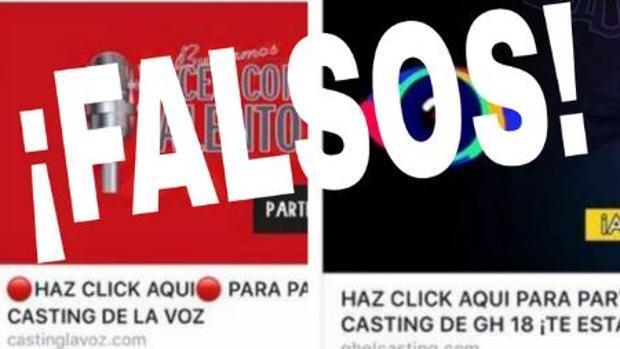 La Policía alerta de castings falsos de «La Voz» y «Gran Hermano»