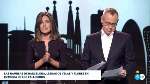 La televisión española levanta su programación habitual con la cobertura del doble atentado en Cataluña
