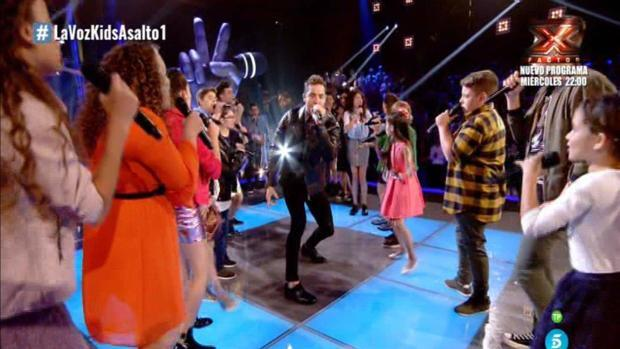 El decisivo papel de David Bisbal en la final de La Voz Kids