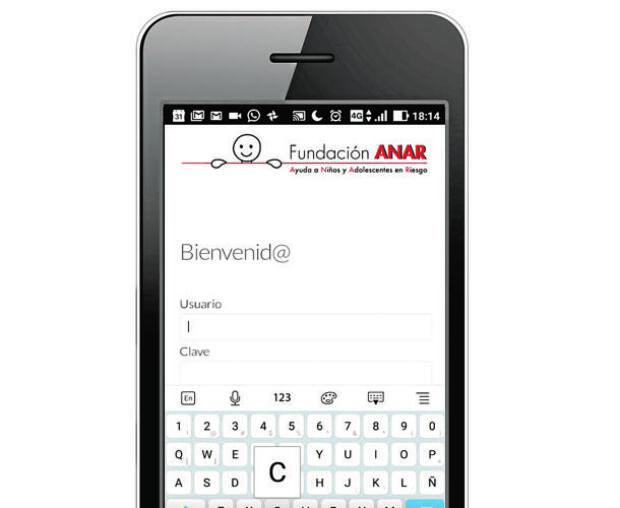 ANAR crea una «app» para atender en tiempo real a los menores en riesgo