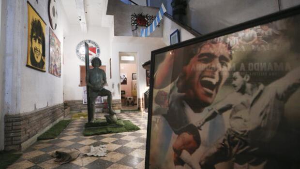Así era la casa del joven Maradona en Buenos Aires