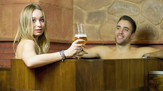 Abre en Granada el primer spa de cerveza para los amantes de esta bebida