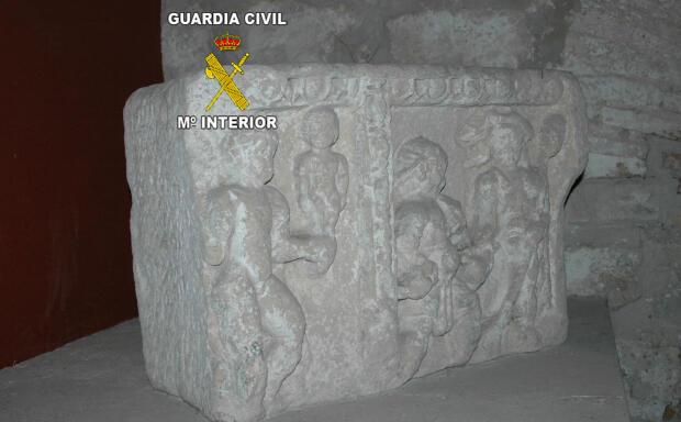 Confiscan 109 piezas de gran valor tras la destrucción de la ciudad romana de Iliturgi