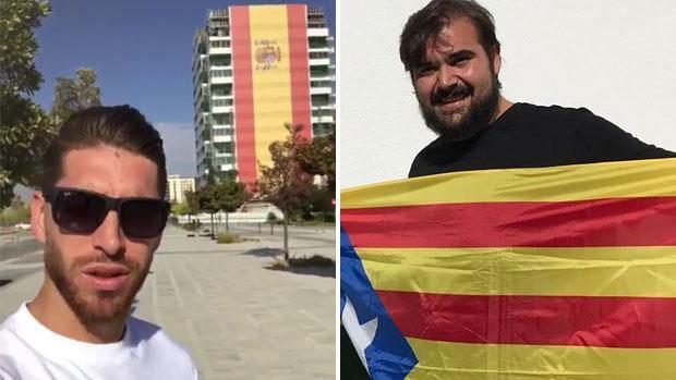 El líder del SAT insulta a Sergio Ramos por posar con la bandera española: «Es el más tonto de la Selección»