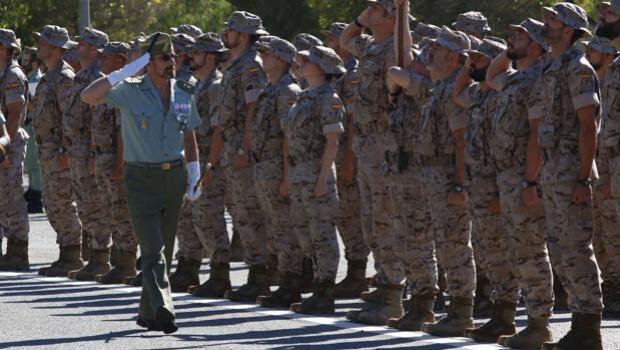 La Legión despide al contingente que partirá a Irak