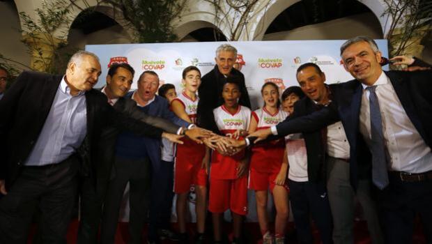 La Copa Covap, puesta de largo en Córdoba contra la obesidad infantil