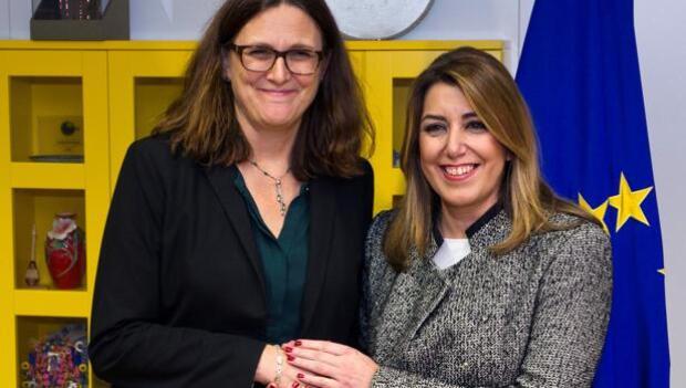 Guerra de intrigas en el viaje de Díaz y Moreno a Bruselas