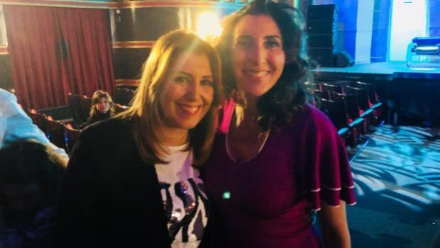 Susana Díaz, fan de Paz Padilla, asiste al estreno de la obra de la presentadora de Sálvame en Madrid