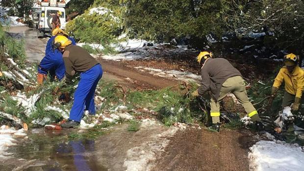 La prenda de abrigo para los bomberos forestales les llegará en verano