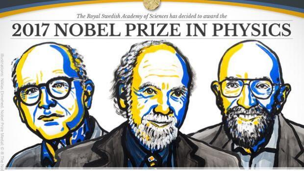 La detección de las ondas gravitacionales gana el Nobel de Física 2017