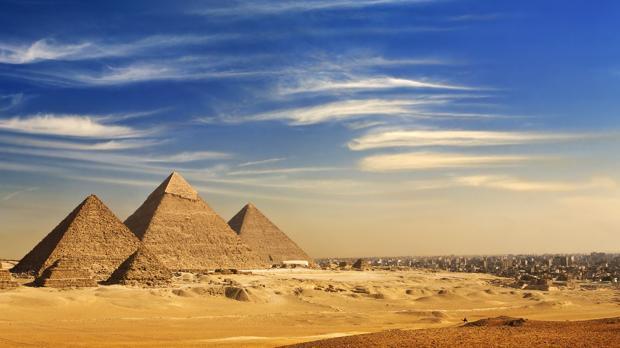Los volcanes acabaron con el esplendor del antiguo Egipto