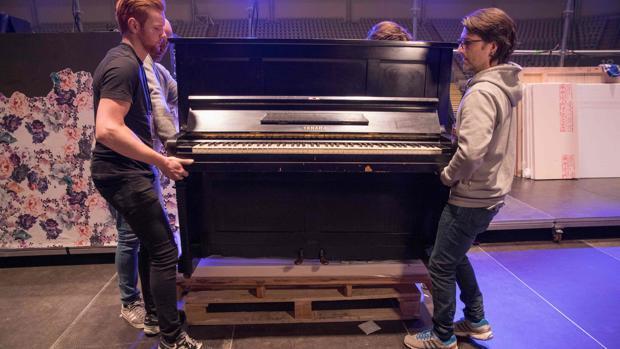 El piano que sobrevivió a la bomba atómica de Hiroshima sonará el lunes en Oslo