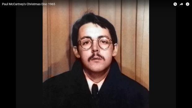 Escucha la «playlist» navideña que McCartney le dedicó a los Beatles hace cincuenta años