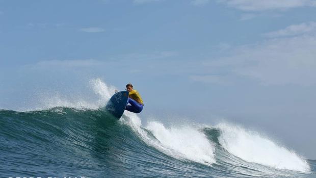 Iballa Ruano, campeona de Europa por cuarta vez de Stand Up Paddle surf