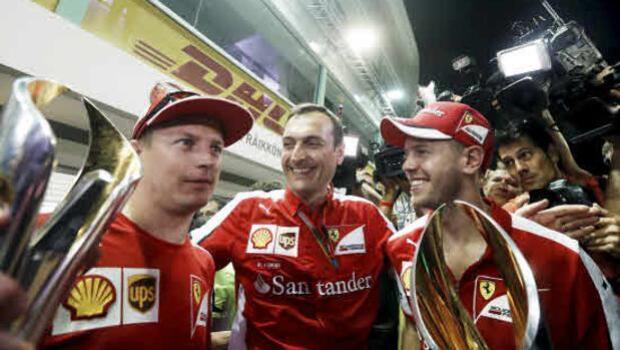 Briatore: «La culpa del fracaso de Ferrari la tienen sus pilotos»