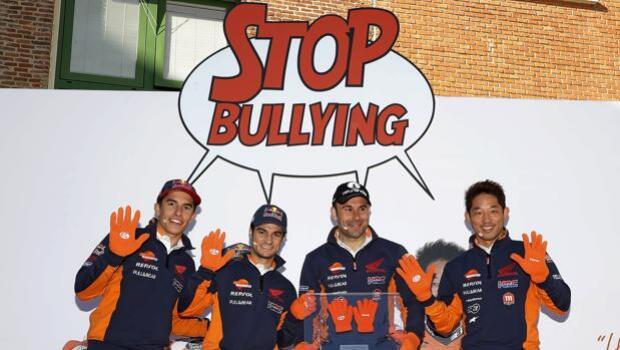 Márquez y Pedrosa, contra el acoso escolar