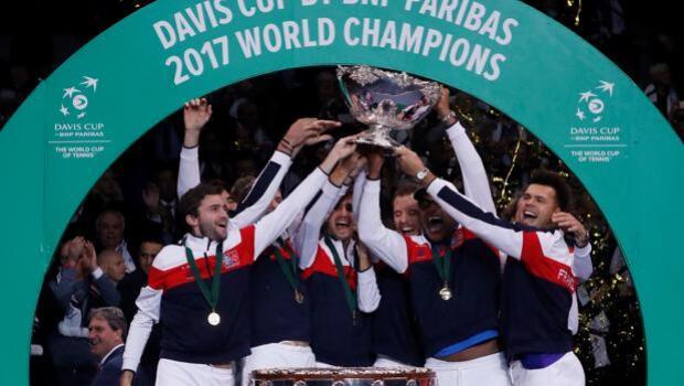 Francia gana la Davis dieciséis años después