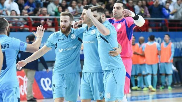El Movistar Inter, en la Final Four
