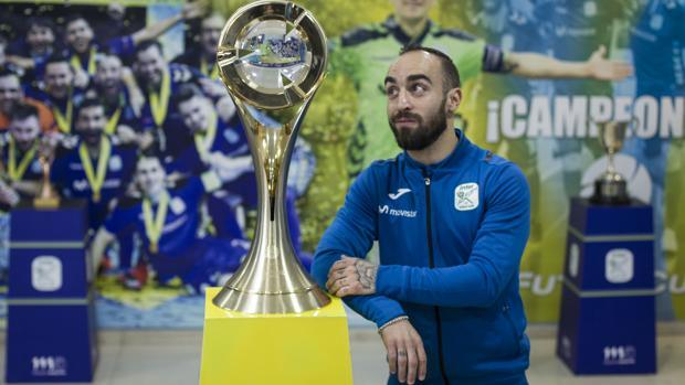 Ricardinho: «He cumplido lo que le prometí a Jose María García»
