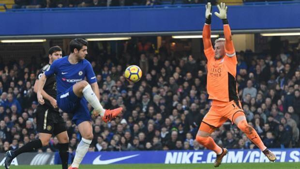 El Leicester frena el ímpetu del Chelsea