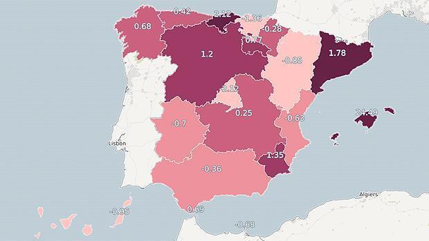 El paro sube en Cataluña por encima de la media en noviembre debido a las tensiones políticas