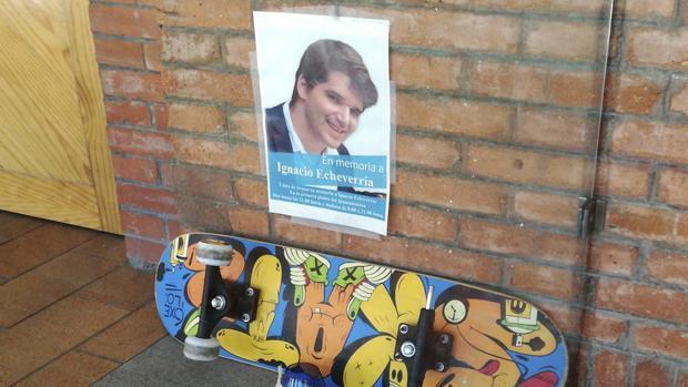 Las Rozas ubicará la pista de patinaje homenaje a Ignacio Echeverría cerca de su familia