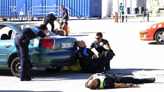 Así se prepara la Policía para actuar ante un atentado como el de Barcelona