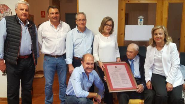 El parejano Francisco Guijarro celebra sus 105 años