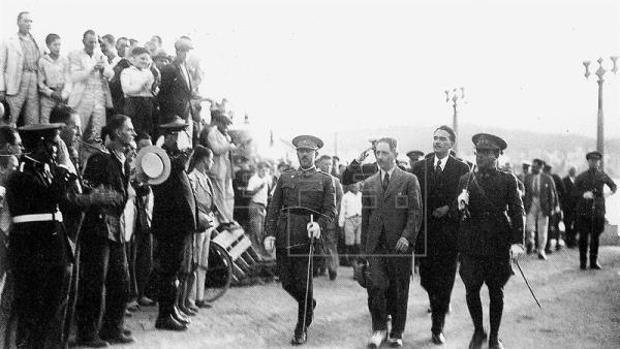 Companys, ministro de Marina de España