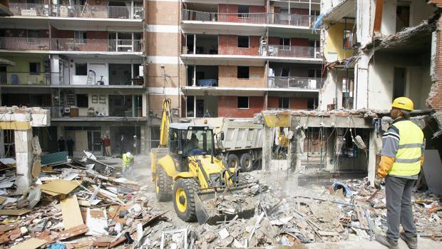 Arranca en Palencia el macrojuicio civil por la explosión de gas en Gaspar Arroyo