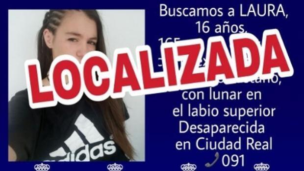 Localizada en Madrid la menor desaparecida en Ciudad Real