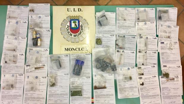 La Policía decomisa droga en la gran feria de la marihuana amparada por Carmena