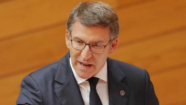 Feijóo anuncia su comparencia en el Parlamento en una bronca sesión de control