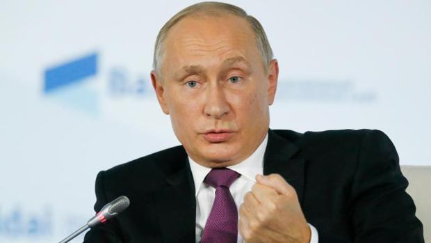 Putin cree que el problema catalán viene por el «doble rasero» de Europa con la independencia de Kosovo