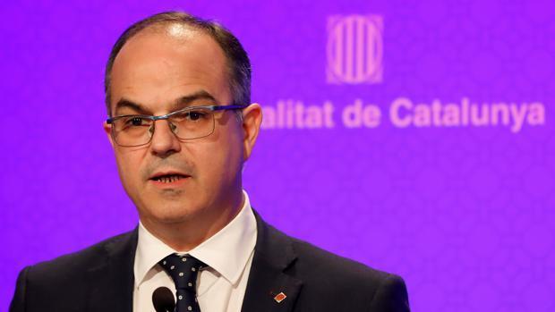 Turull afirma que no está «sobre la mesa» que Puigdemont convoque elecciones