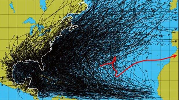 El aniversario de la «tormenta Delta» trae lluvias a Canarias